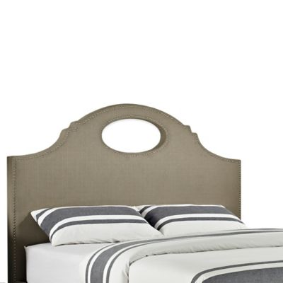 Powell Keyhole King Headboard
