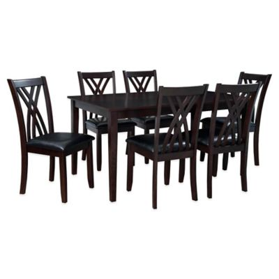 Powell Masten 7-Piece Dining Table Set