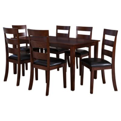 Leather Kitchen Table Set