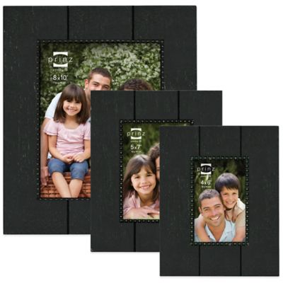 Prinz Parson 5-Inch x 7-Inch Wood Picture Frame in Antique Black