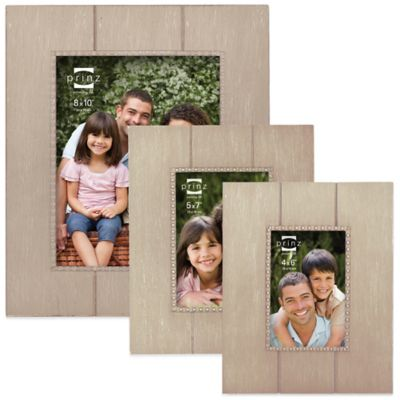 Prinz Parson 4-Inch x 6-Inch Wood Picture Frame in Natural