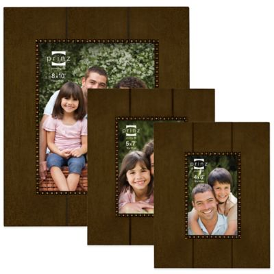 Prinz Parson 4-Inch x 6-Inch Wood Picture Frame in Espresso