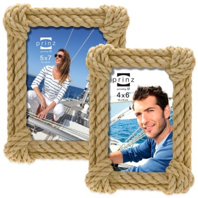 Prinz Hatteras 4-Inch x 6-Inch Resin Picture Frame in Natural