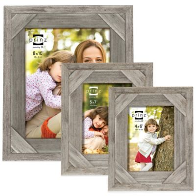Distressed White Picture Frame