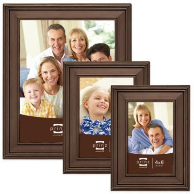 Prinz Clybourn 4-Inch x 6-Inch Metal Picture Frame in Matte Bronze