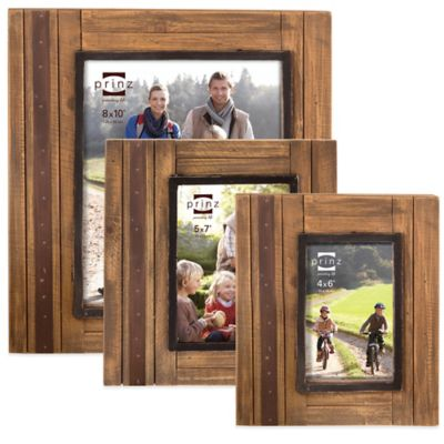 Prinz Woodlands 4-Inch x 6-Inch Picture Frame in Natural