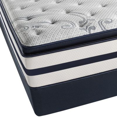 Beautyrest® Recharge® Windchase Luxury Firm Pillow Top Split Queen Mattress Set