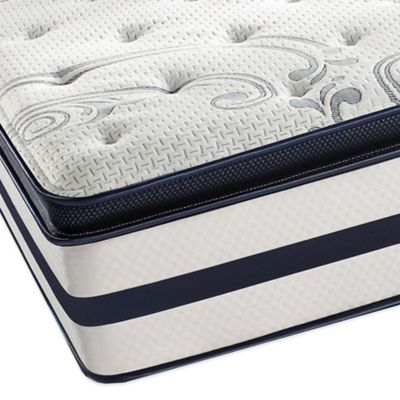 Simmons® Beautyrest® Recharge® Windchase Plush Pillow Top Twin XL Mattress Set