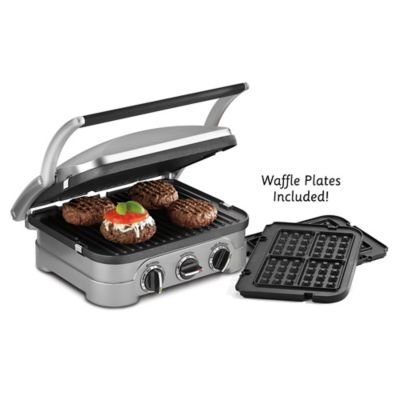 Cuisinart® Griddler® and Waffle Maker with Removable Plates