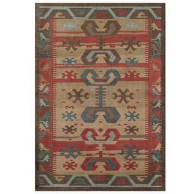 Rugs America Ziegler Aztec 2-Foot x 3-Foot Rug in Multicolor