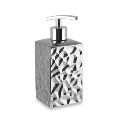 Taymor® Chrome Crush Square Lotion Dispenser