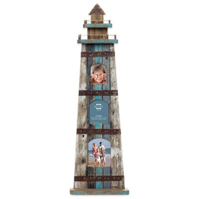 Prinz Homeport 3-Photo Lighthouse Picture Frame
