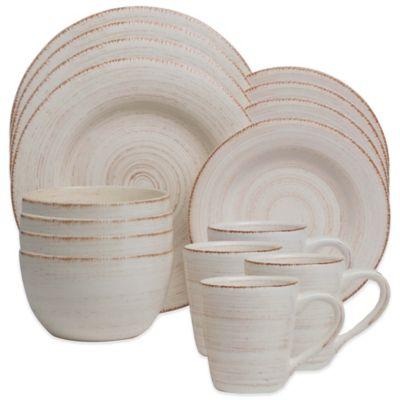Sonoma 16-Piece Dinnerware Set in Ivory