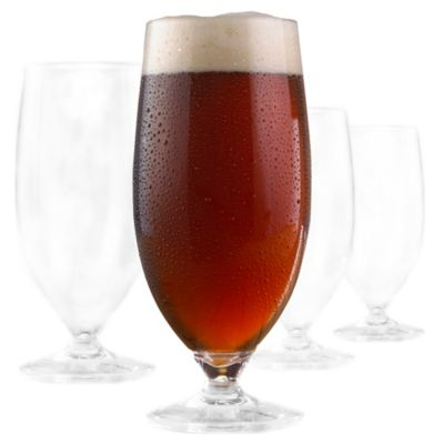 Wine Enthusiast Indoor/Outdoor Stout Glasses (Set of 4)