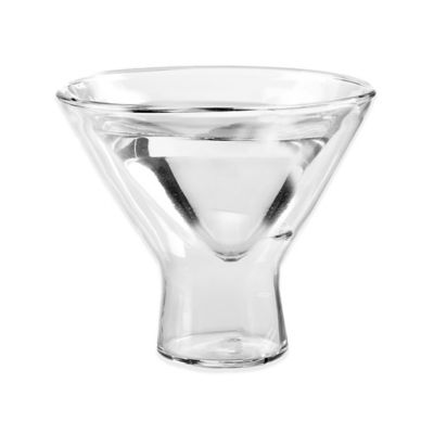 Wine Enthusiast® Steady Temp Martini Glasses (Set of 4)