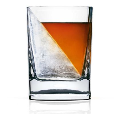 Corkcicle® Whiskey Wedge Glass