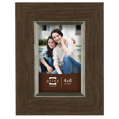 Prinz 6 inches Brown Wood Frame