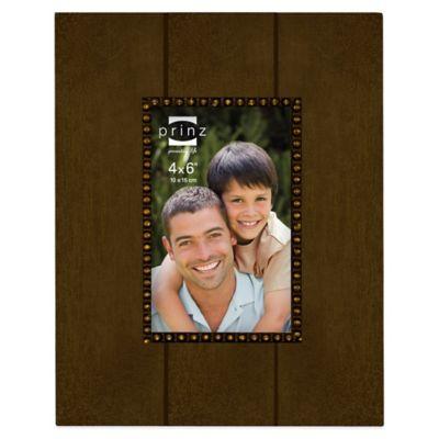 Prinz Parson 4-Inch x 6-Inch Wood Picture Frame in Espresso