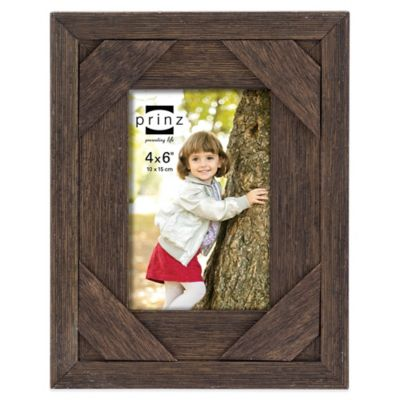Prinz 4 inches Brown Picture Frame