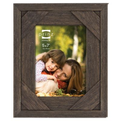 """5"""" x 7 Brown Picture Frame"""
