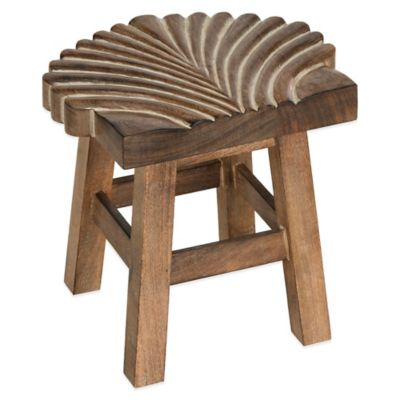 Safavieh Malibu Seashell Mini Stool