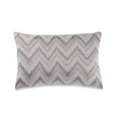Anthology Sierra Oblong Throw Pillow in Grey