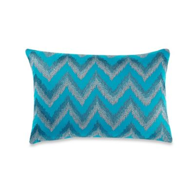 Anthology™ Sierra Oblong Throw Pillow in Teal
