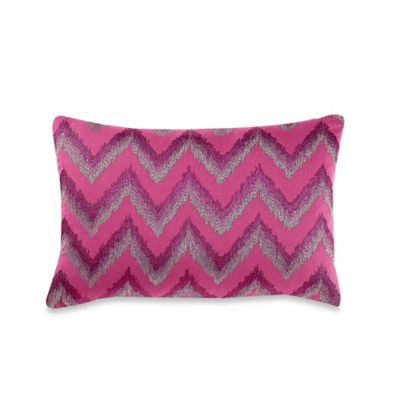 Anthology™ Sierra Oblong Throw Pillow in Orchid