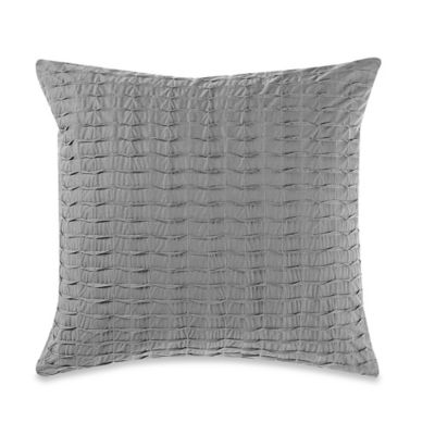Anthology™ Sierra Square Throw Pillow in Grey