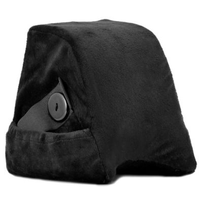 Travel Head Side Sleeper Memory Foam Pillow in Black