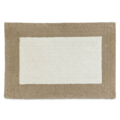 Kassatex Soho Bath Rug in Linen
