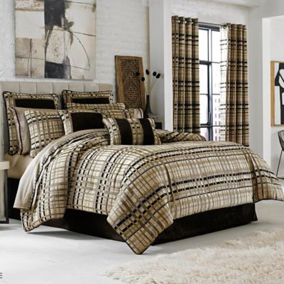 J. Queen New York™ Structure Queen Comforter Set in Taupe