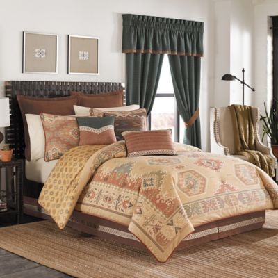 Croscill Arizona Reversible California King Comforter Set
