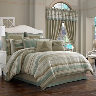 J. Queen New York Newport California King Comforter Set