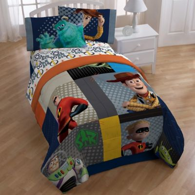 Disney® Pixar Patchwork Twin/Full Comforter