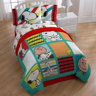 Peanuts Best Friend Reversible Twin Comforter