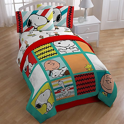 Peanuts Best Friend Reversible Comforter Www Buybuybaby Com
