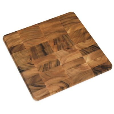 Lipper International 12-Inch Acacia Chopping Block