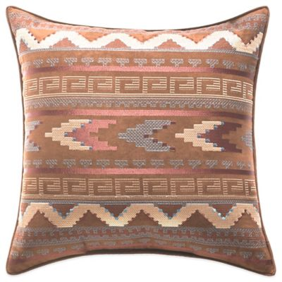 Croscill Arizona Embroidered Square Throw Pillow