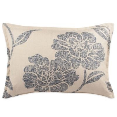 Sherry Kline Splendid Floral Oblong Throw Pillow