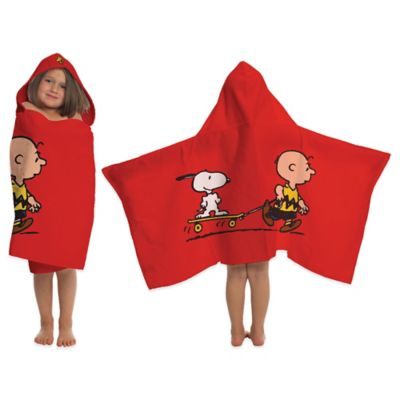 Peanuts Best Friend Hooded Towel