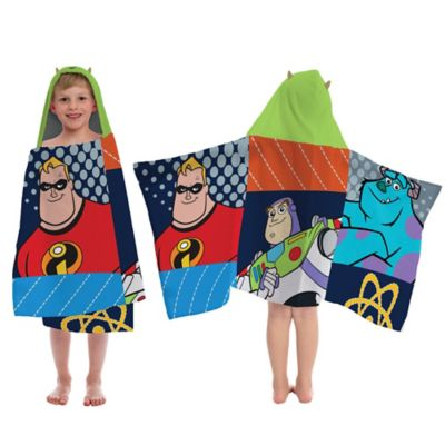 Disney® Pixar Patchwork Hooded Towel