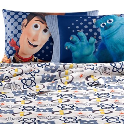 Disney® Pixar Patchwork Twin Sheet Set