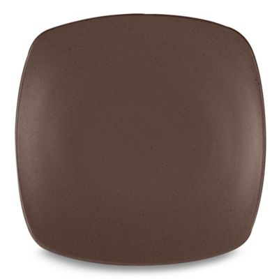 Noritake® Colorwave Chocolate Quad 10 3/4-Inch Dinner Plate