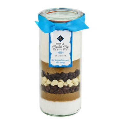 Sister's Gourmet Select Crisp & Colorful Triple Chocolate Chip Cookie Mix