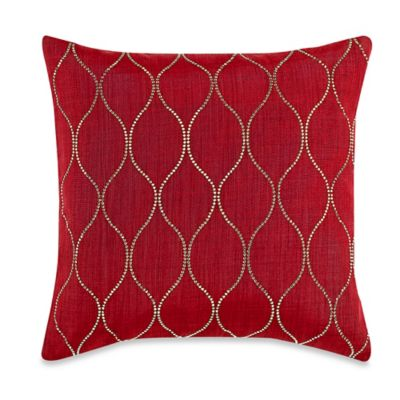 MYOP Genie Square Throw Pillow Cover in Red/Gold