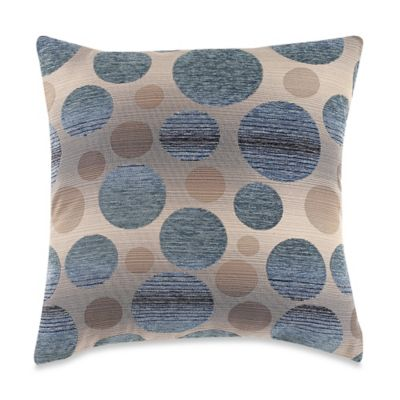 Blue Multi Pillow Cover