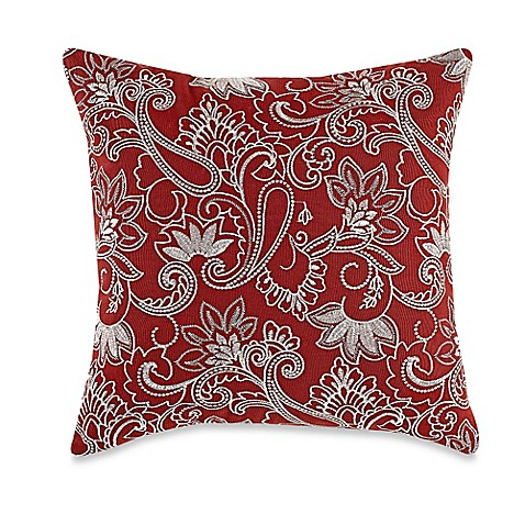 Myop Throw Pillow Covers : MYOP Prima Square Throw Pillow Cover in Rust - BedBathandBeyond.ca