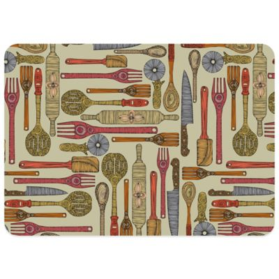 Bungalow Flooring Let's Cook 23-Inch x 36-Inch Kitchen Mat