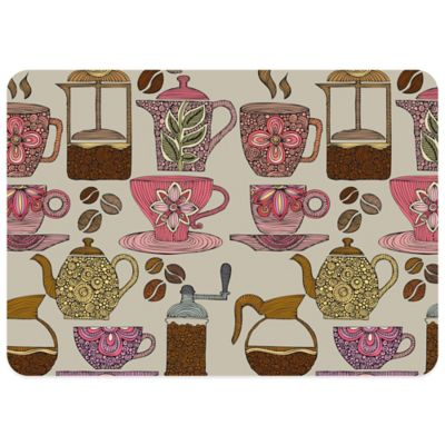 Bungalow Flooring Have Some Coffee 23-Inch x 36-Inch Decorative Kitchen Mat